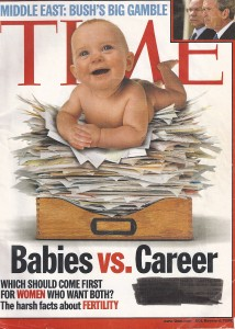 Time Magazine - Babies vs. Careers